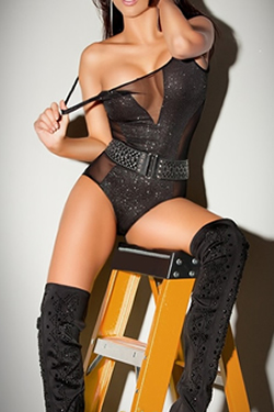 High blonde London escort